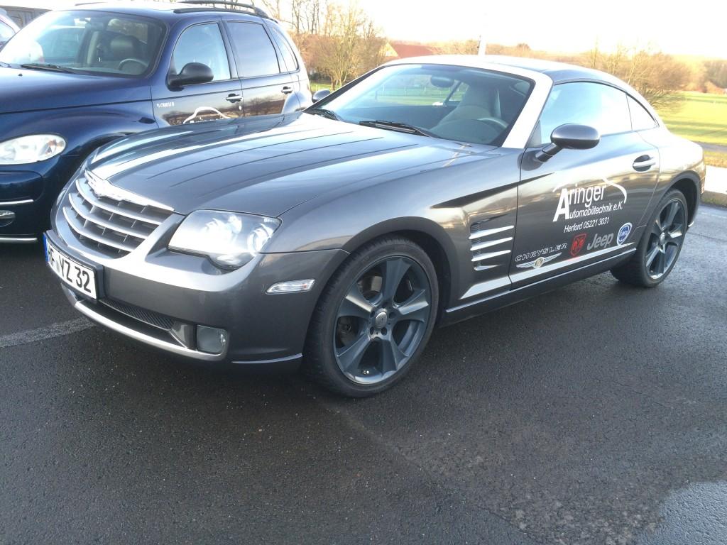 Ersatzwagen Chrysler Crossfire 3,2 V6