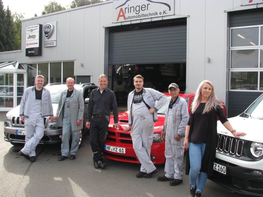 Aringer Automobiltechnik Team Startseite